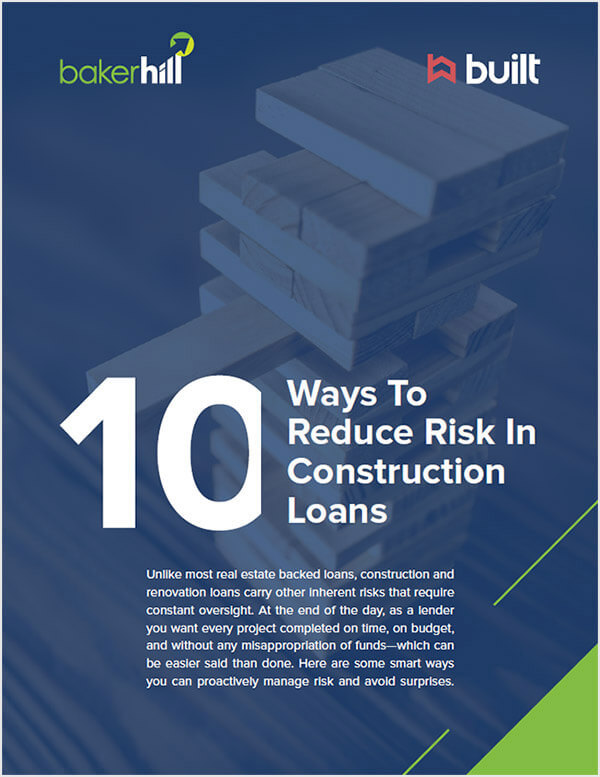 10 ways to reduce construction lending risk cover